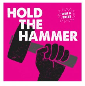 Hold the Hammer Poster